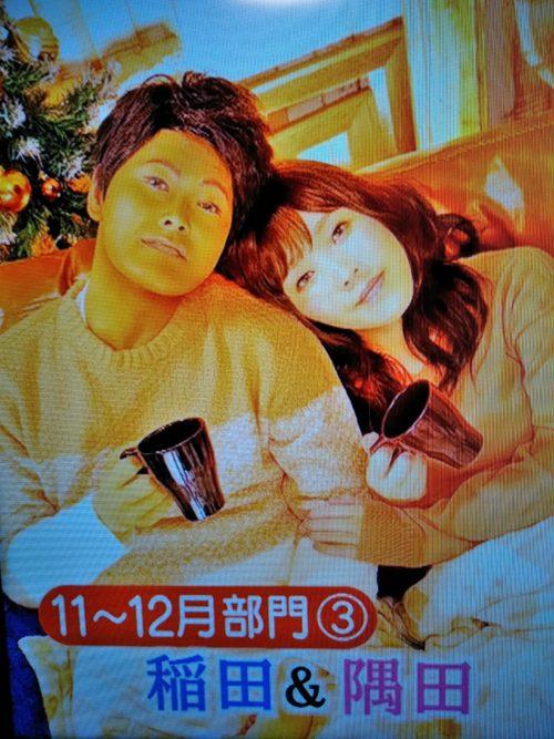 ロンハー奇跡の一枚カレンダー2020稲田&隅田