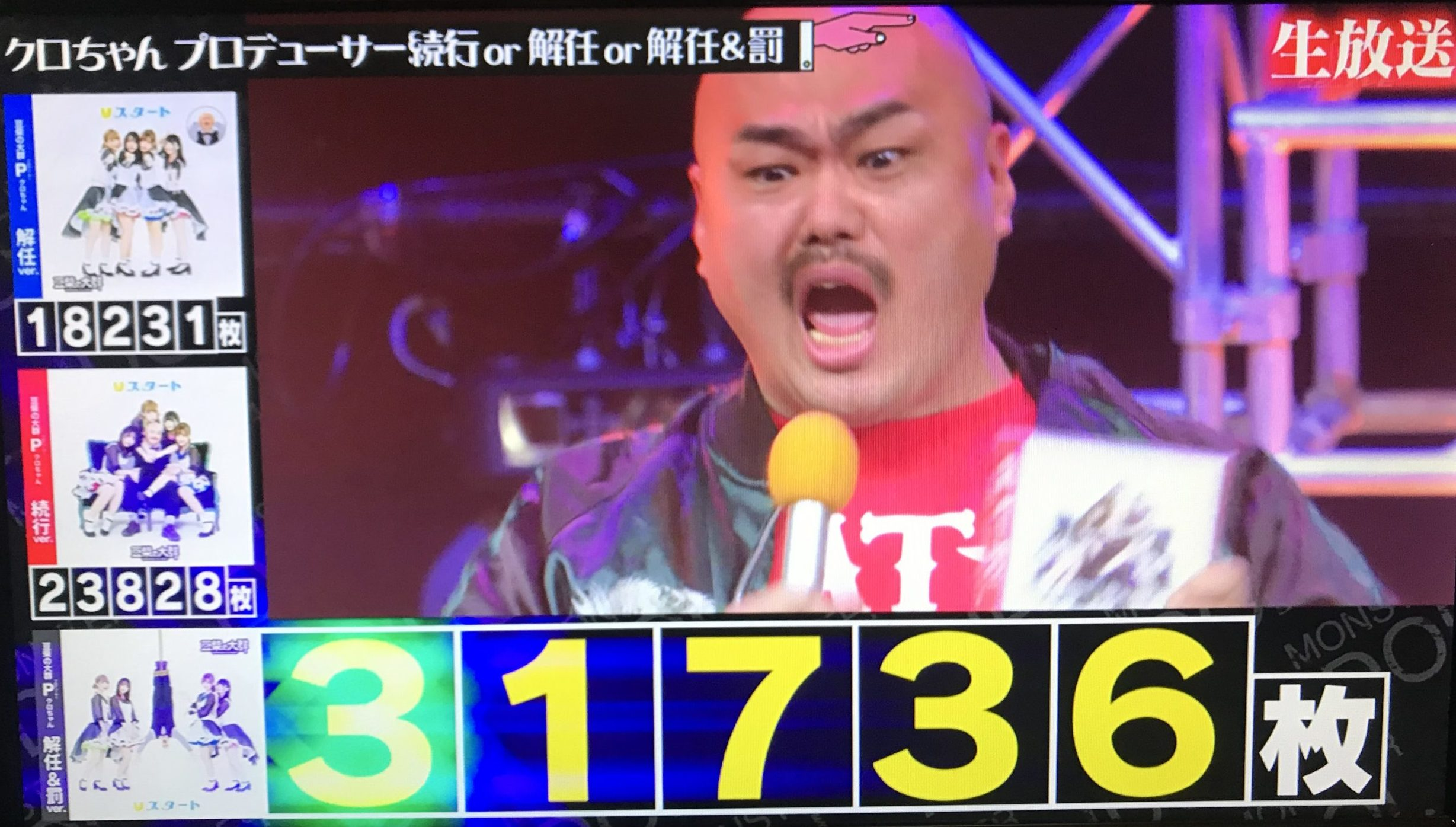 豆柴の大群CD『りスタート』売上結果発表